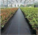 Tissu tissé agricole de couvre-tapis de lutte contre les mauvaises herbes