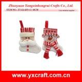 Prodotto del regalo del tessuto di natale della decorazione di natale (ZY11S113-3-4-5 7 '')