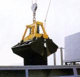 compartimiento teledirigido sin hilos del gancho agarrador de la cubierta de 5cbm 8cbm 10cbm16cbm 20cbm para el material a granel