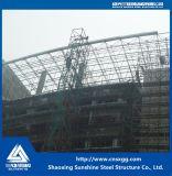 Bragueros espaciales de la estructura de acero del palmo grande para Pasillo