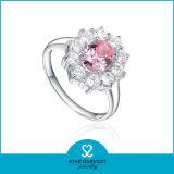 Nuevo anillo de plata con circón (SH-R0170-2)