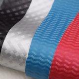 Glänzendes Kristallchemiefasergewebe PU-Beutel-Leder gedrucktes dekoratives Texturleder