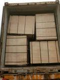 Madera Shuttering hecha frente película de la madera contrachapada de la base del álamo de Brown (6X1220X2440m m)