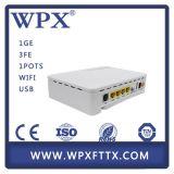 Unidade Home Hgu Ontário do Gateway de FTTX Gpon com o modem 1ge+3fe