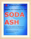 Luz de la ceniza de soda de la categoría alimenticia/pesado para los productos químicos de la piscina
