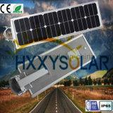 Réverbère 18W solaire Integrated avec 25 ans de durée de vie