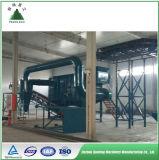 Reciclaje inútil sólido municipal (MSW) y proceso