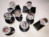 Hy Series Crystal Flash de la poignée de timbres en caoutchouc avec Flash de 4 mm