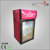 Vitrine de réfrigération stockée en bouteille colorée (SC-40B)