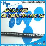 Tubo flessibile idraulico di gomma ad alta pressione 1sc