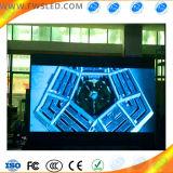 Hohe Definition, farbenreiche P7.62 SMD (Scan 16) LED-Innenbildschirmanzeige, LED-Zeichen-Vorstand