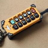 Regolatore a distanza senza fili della gru elettrica di serie F23