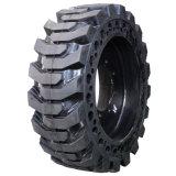 El neumático sólido 12-16.5 del buey del patín para el cargador de Volvo, buey del patín pone un neumático 12-16.5
