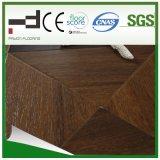 600*600*12mmの絹の表面の寄木細工の床のHDFによって薄板にされるフロアーリング