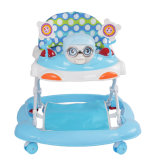 Marcheur de plastique simple de bébé de Hebei de 8 roues à vendre