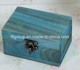 Boîte en bois délicate antidérapante de luxe pour cigares