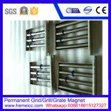 Separador magnético permanente da grade/grade/grelha para a cerâmica, removedor do ferro