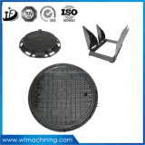 Квадрат бросания утюга плавильни Китая изготовленный на заказ дуктильные/треугольник/круглая крышка люка -лаза