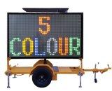 Vms 표시를 경고하는 OEM 광고문 널 도로 안전 소통량