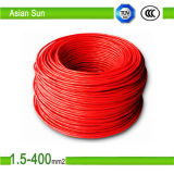 Fio elétrico com isolamento de PVC de cobre estanhado Fio do cabo