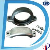 Accoppiamento di gomma flessibile a metà Grooved del tubo dell'acciaio inossidabile