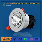 Luz de techo barata de Dimmable LED de la MAZORCA del precio 20W de la venta de la fábrica