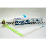Pré appliqué en PEHD Imperméabilisation membrane auto-adhésif