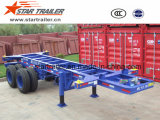 20 Feet Chassis Extendable Trailer