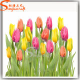 La visión de la Seda artificial decoración de jardín de flores de boda Wholesale Fake tulipanes