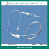 IV Infusion der Infusion-gesetzter Bedarfs-Wegwerf-Transfusion-IV eingestellt mit Luer Verschluss