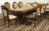 Meubles d'hôtel/jeux de luxe de salle à manger/meubles de restaurant de type/clinquant européens de Golded dinant les jeux (CHN-019)