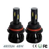 Kits H1 H3 H4 H7 H8 H11 H13 880 del bulbo de la linterna del coche LED de G6 4800lm 48W 881 9005 9006 5202 faro de 9012 LED