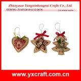 Décoration d'arbre de Noël d'étoile de Noël de la décoration de Noël (ZY16Y136-2-3 24CM)