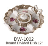 Dw-1002 keramischer u. Porzellan geteilter Teller 12 ``