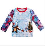 L'automne de 2014 Le nouveau boy Enfants marque d'usure du coton T-Shirt à manches longues sans doublure vêtement supérieur