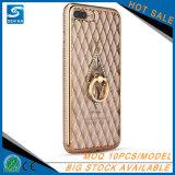 Weiche TPU Silikon-rückseitiger Deckel-Telefon-Kästen der Rhinestones-Blumen-für Samsung S8