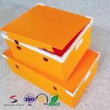 Caixa de empacotamento ondulada plástica com tampa