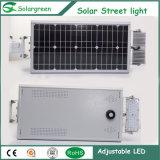 8W todo en una luz de calle solar 2 años de garantía