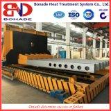 Grande linea di produzione di trattamento termico della fornace del contenitore di carrello elevatore