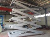 Ascenseur de ciseaux de plancher à sol commercial