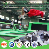 Trampoline interno Park com Basket Ball Hocks e Ball Pools