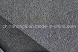 Tela teñida hilado de T/R, solo echado a un lado aplicado con brocha, 63%Polyester 33%Rayon 4%Spandex, 250GSM