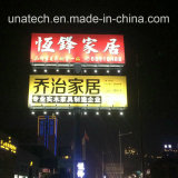Projector grande do anúncio do quadro de avisos do anúncio ao ar livre do bulbo do diodo emissor de luz do brilho elevado
