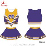 Les plus grands Jersey de Cheerleading d'Uniformes de sublimation de l'usine 3D de Healong