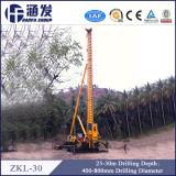Zkl-30 Parafuso Longo hidráulico completo da máquina de estacas com pouco ruído
