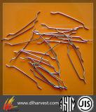 Extremos de las fibras de acero inoxidable Enganchado