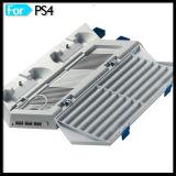 O carregador do cubo do USB três move o carrinho vertical para o console do jogo PS4