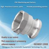 アセンブルサービス使用できる精密アルミニウム製粉の旋盤のCNCによって回される部品