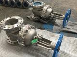 """2 valvola a saracinesca Resiliente-Messa dell'acciaio inossidabile di 1/2 """" 150lb"""