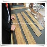 Cliquetis facile aucun plancher en bois de vinyle de PVC de configuration de colle